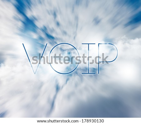 VOIP - stock photo