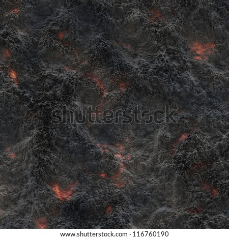 Volcanic ash background or texture - stock photo