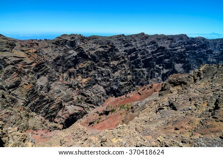 Volcanic Basaltic Rock Formation
