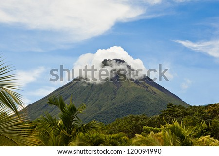 Volcano Arenal - stock photo