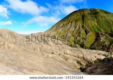Volcano Landscape - stock photo