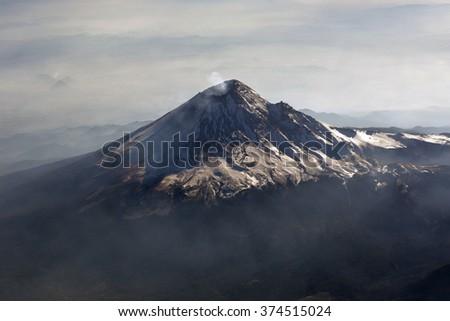 Popocatepetl Stock Images RoyaltyFree Images Vectors - Active volcanoes in mexico