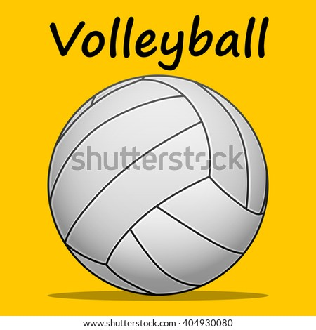 Volleyball-team sport - stock photo