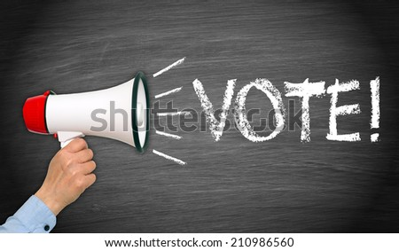 Vote ! - stock photo