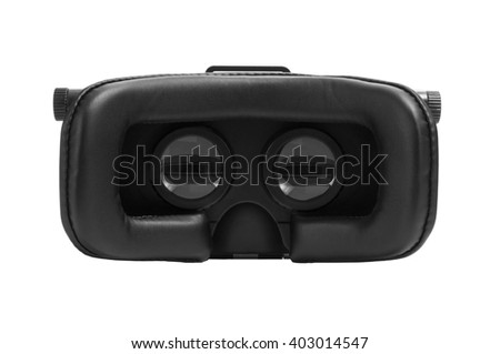 VR Glasses isolated on white background.