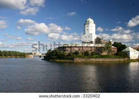 Vyborg Castle ( Finnish: Viipurin linna, Swedish: Viborgs fastning) is a Swedish built medieval fortress around which the town of Vyborg, Russia evolved.