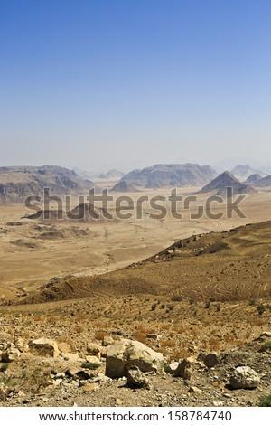 Wadi Rum,Jordan - stock photo