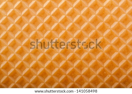 Wafer texture for background. - stock photo