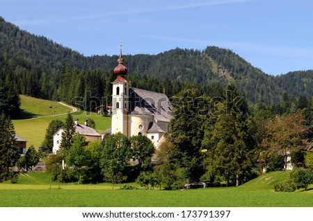 Waidring  is a municipality in the Kitzbuehel district in Tyrol in Austria