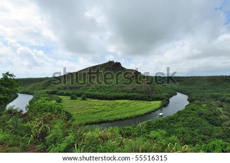 Wailua River State Park - stock photo