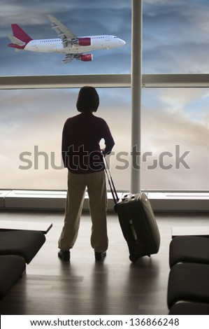 Waiting at the airport
