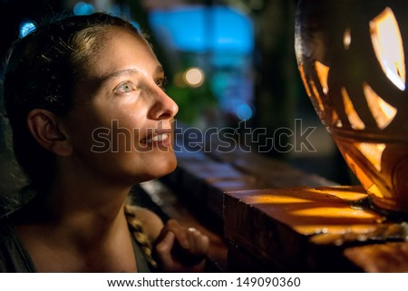 Waiting for the magic to come - stock photo