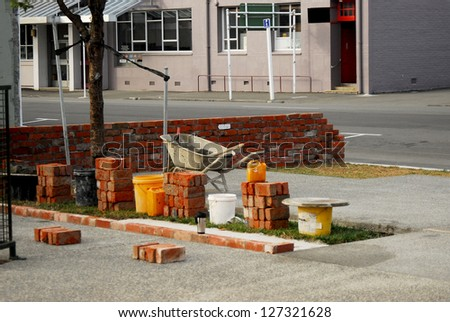 Waiting for the tradesman... - stock photo