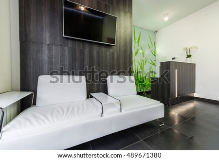 waiting room and reception of modern medical clinic or dentist contemporary waiting furniture39 contemporary