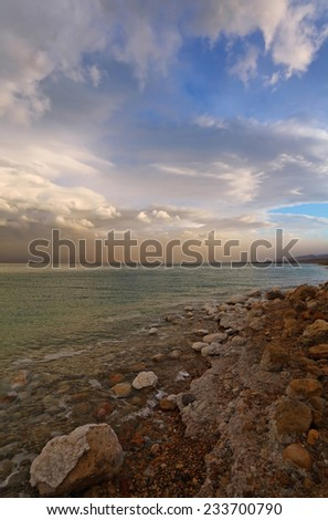 Walk along the walls of ancient Jerusalem. For this crow a wall - the vacation spot - stock photo
