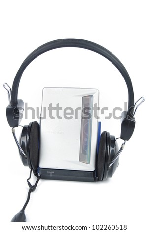 Walkman - stock photo