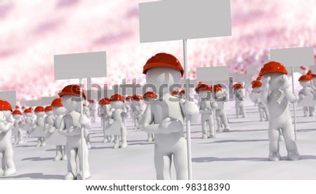 walkout - stock photo