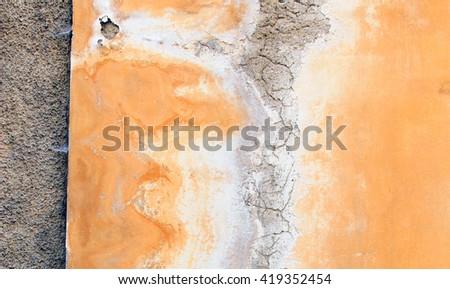 Wall abstract - stock photo