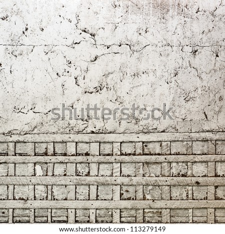 wall background, wooden net