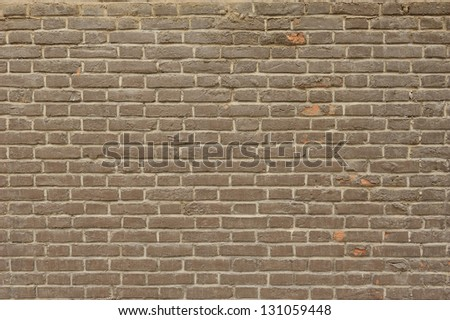 Wall brick - stock photo