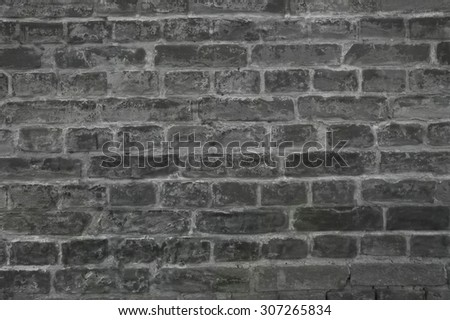 wall brick background - stock photo