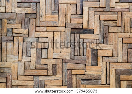 Wall brown wood  texture. Abstract background