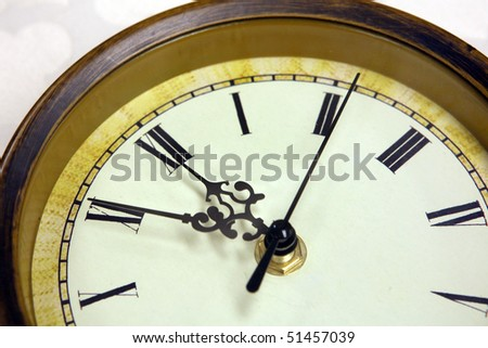 wall clock time interior home decoration