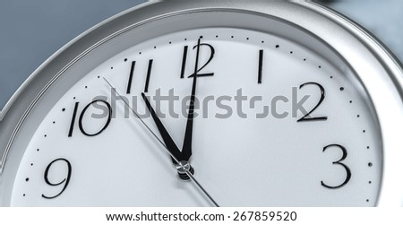 wall clocks - stock photo