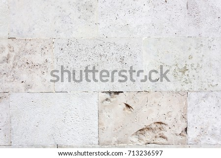 Wall close-up detail, high resolution, limestone