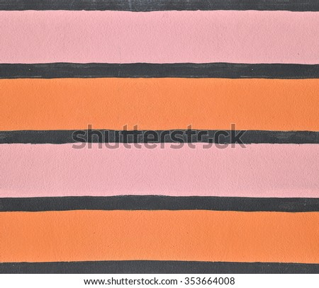 Wall color pink and orange  texture background - stock photo
