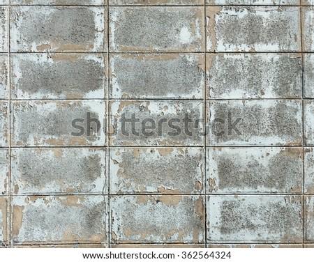 Wall concrete block - stock photo
