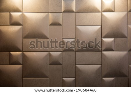 wall deco background - stock photo
