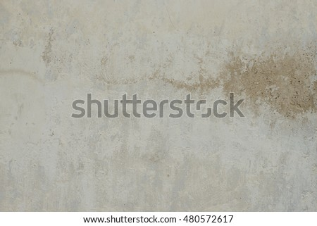Wall fragment with attritions and cracks