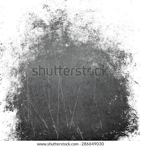 wall grunge black white - stock photo