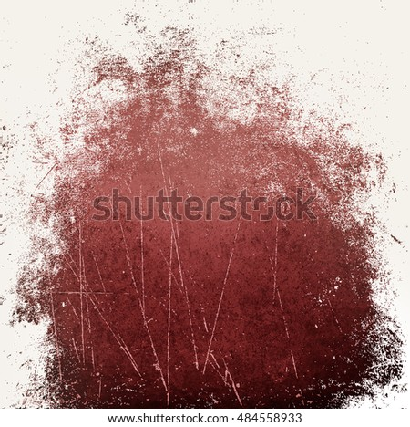wall grunge red white
