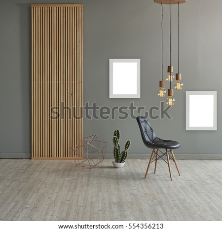wall in front of modern wooden separator modern pendant lamp textured wood  laminate flooring and cactus