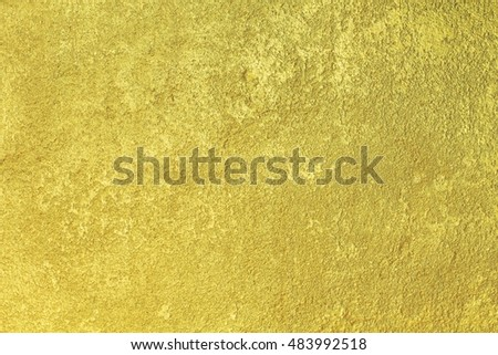Wall mortar gold