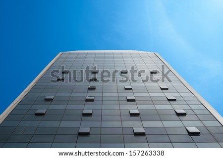 wall of a shopping center in Chengdu, China - stock photo