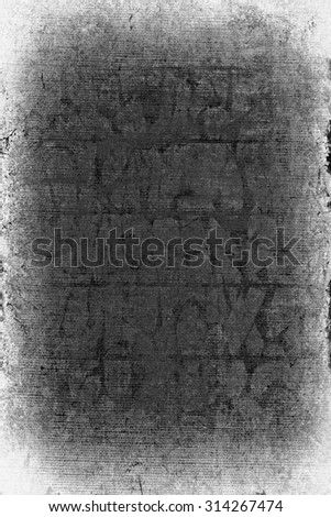 wall of limestone blocks in plaster and pits - stock photo