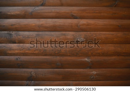 Wall of wooden planks wooden background