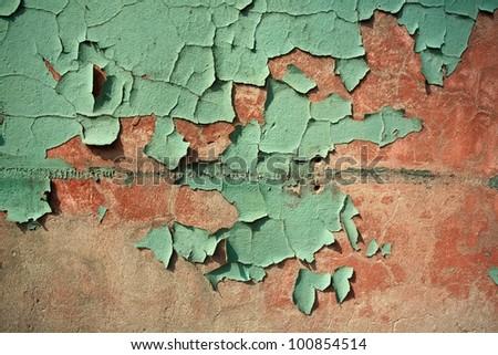 wall paint - stock photo