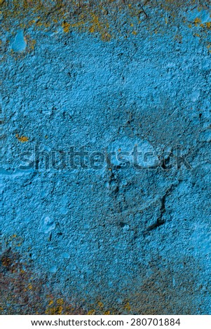 Wall painted in different paint pastel colours. Background for invitation. - stock photo
