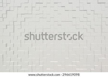 Wall texture background, 3d block style