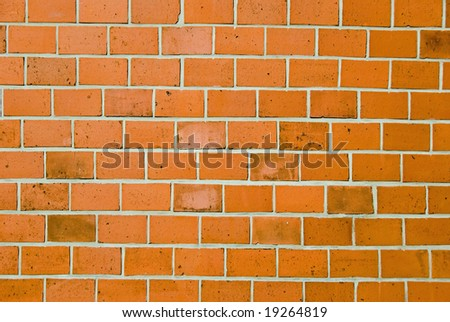 Wall texture background. From a restored old church. - stock photo