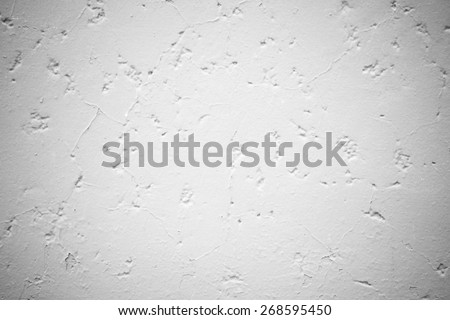 Wall texture background Soft tone White color - stock photo