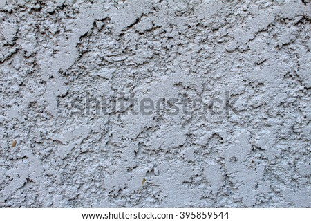 Wall texture from plastering - stock photo