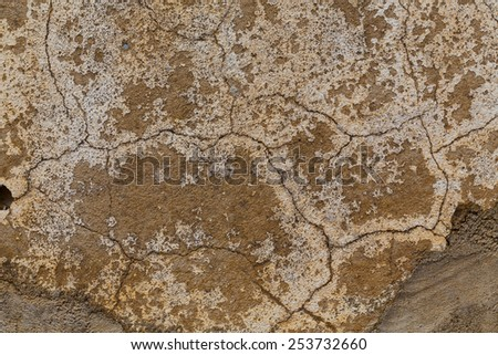 wall texture old dirty scratched as grunge background - stock photo