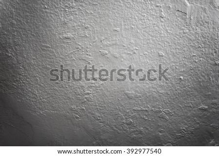 Wall texture painted white