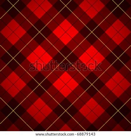 Wallace tartan. Scottish plaid - stock photo
