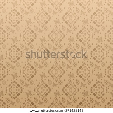 Wallpaper background for Your design. Template for decorating books, postcards, wallpaper, wall, web design. Background in style vintage.